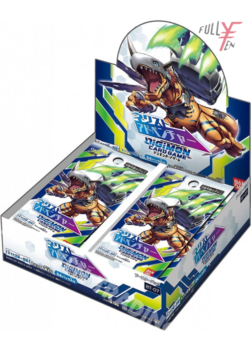 Japanese Digimon Card Game BT7 Booster Box